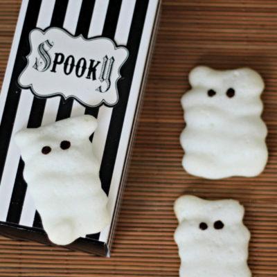 Meringue Mummy Cookies {LOW CARB, SUGAR-FREE}