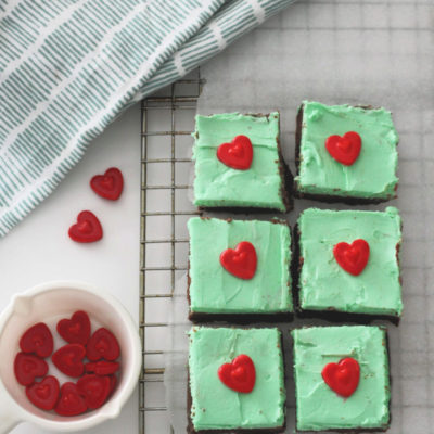 Keto Chocolate Mint Fudge